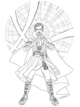 Dr-Strange-coloring-pages-1