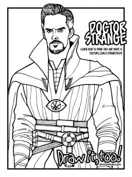 Dr-Strange-coloring-pages-8