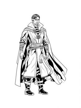 Dr-Strange-coloring-pages-9