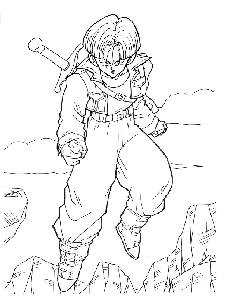 - Free Printable Dragon Ball Z Coloring Pages For Boys