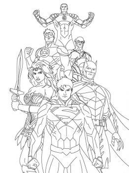 Justice-League-coloring-pages-4