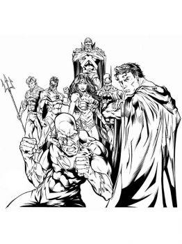 Justice-League-coloring-pages-7