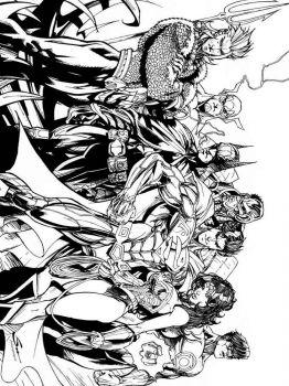 Justice-League-coloring-pages-9