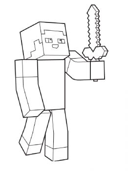 Minecraft-Steve-coloring-pages-3