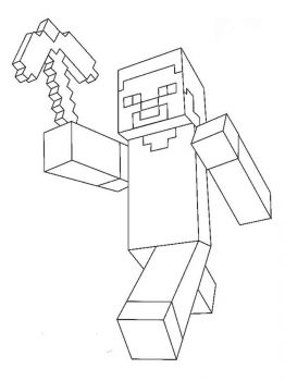 Minecraft-Steve-coloring-pages-7