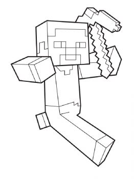Minecraft-Steve-coloring-pages-9