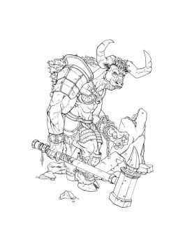 Minotaur-coloring-pages-14