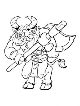 Minotaur-coloring-pages-16