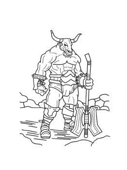 Minotaur-coloring-pages-17