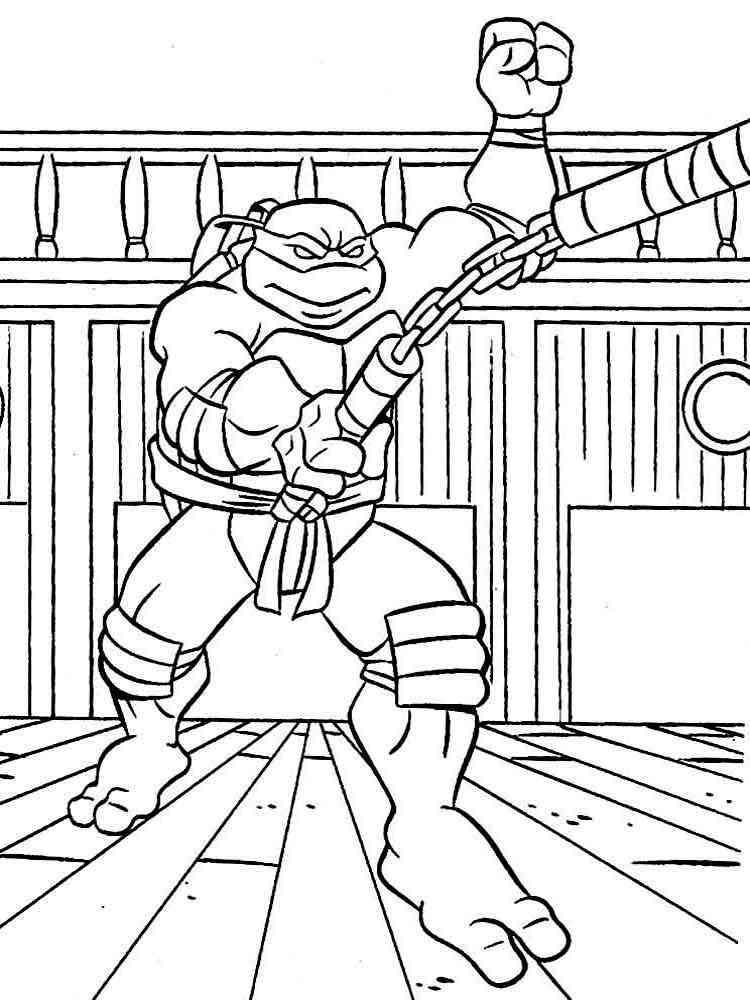 ausmalbilder teenage mutant ninja turtles  malvorlagen