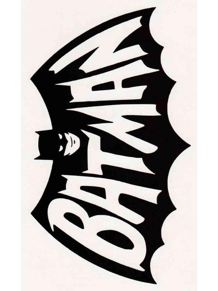 Ausmalbilder Batman Logo - Malvorlagen Kostenlos zum ...