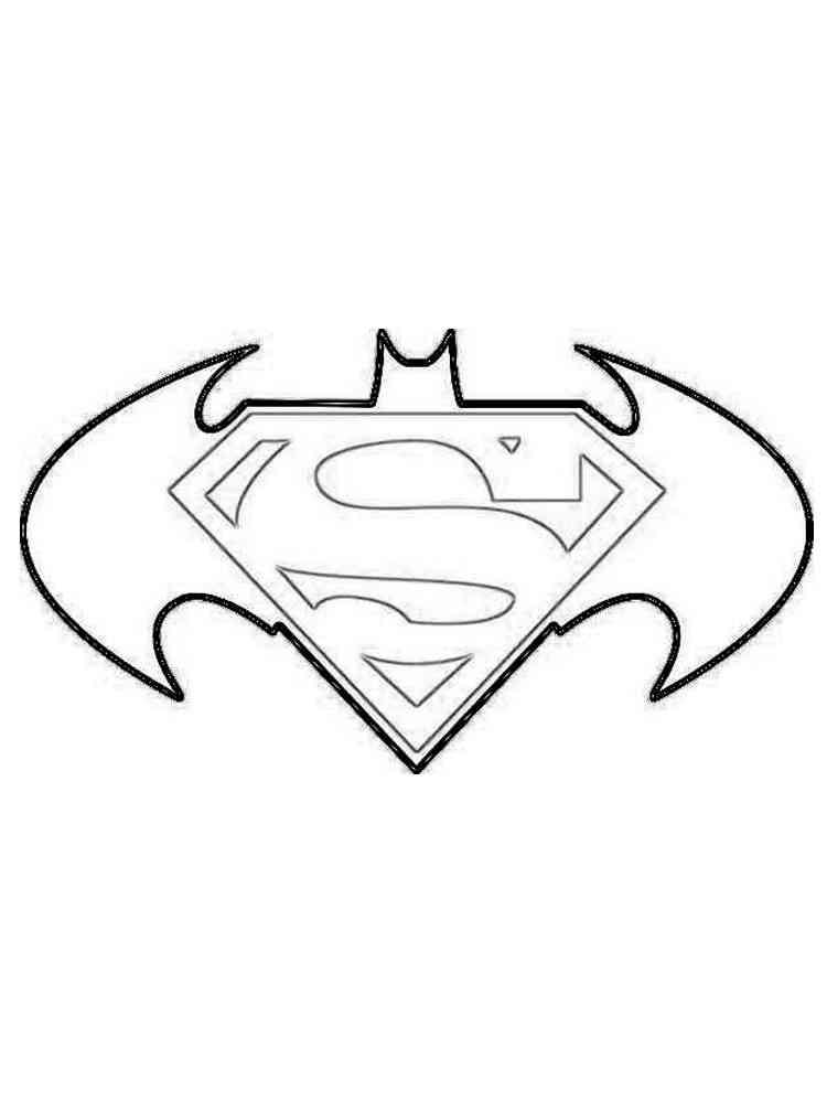 ausmalbilder batman logo  malvorlagen kostenlos zum