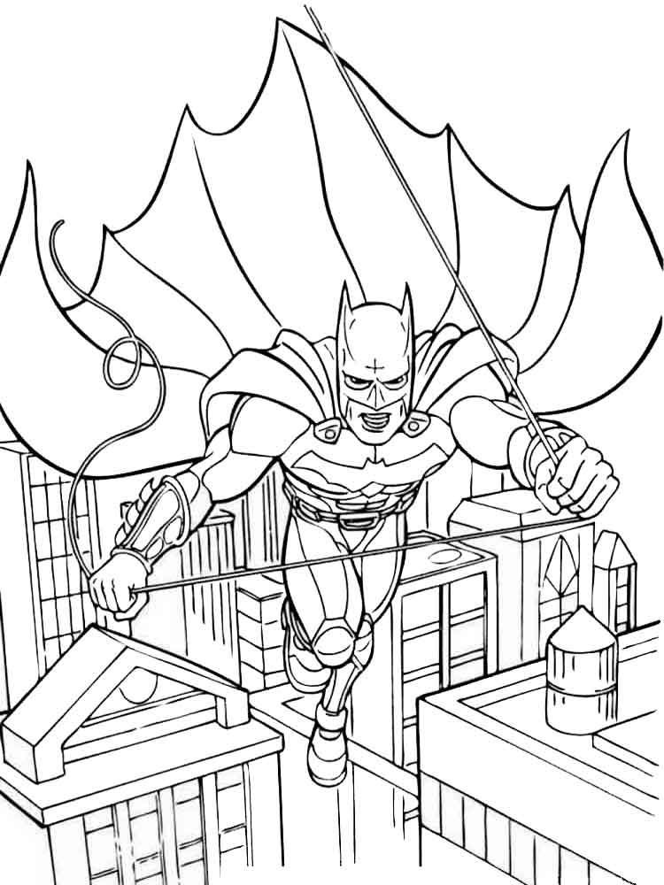 Free printable Batman coloring pages For Boys