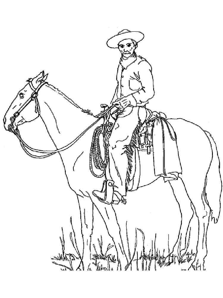 ausmalbilder cowboy  malvorlagen kostenlos zum ausdrucken