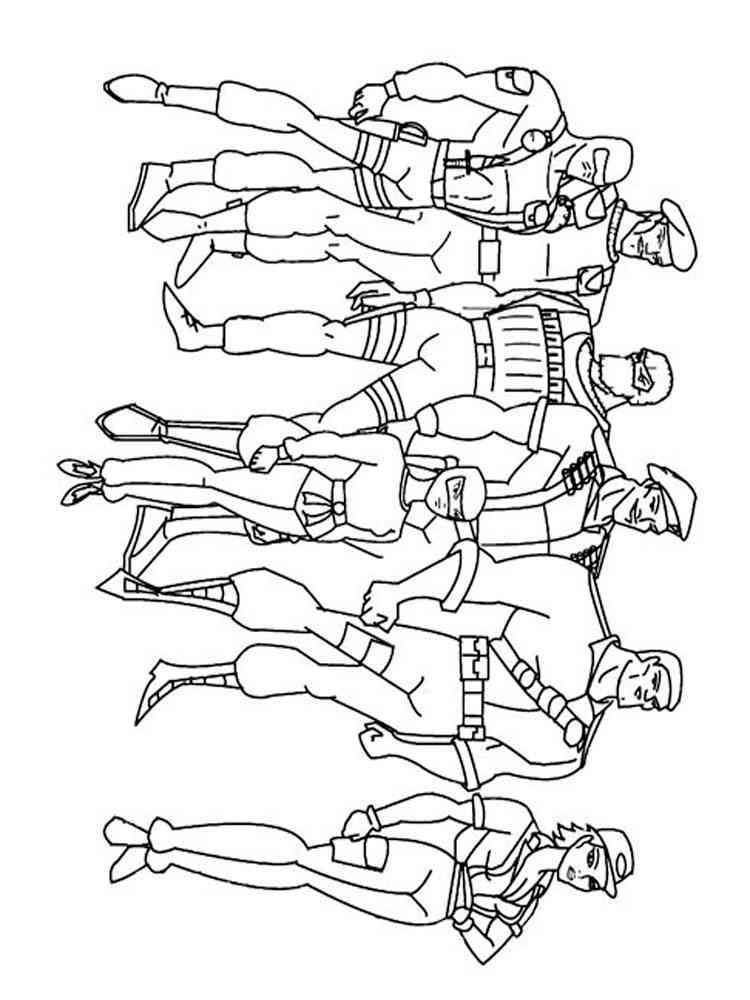 Free printable Gi Joe coloring pages For Boys