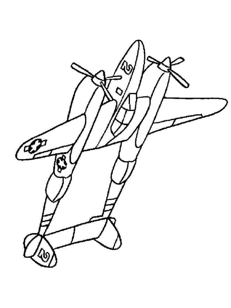ausmalbilder flugzeuge - malvorlagen kostenlos zum ausdrucken