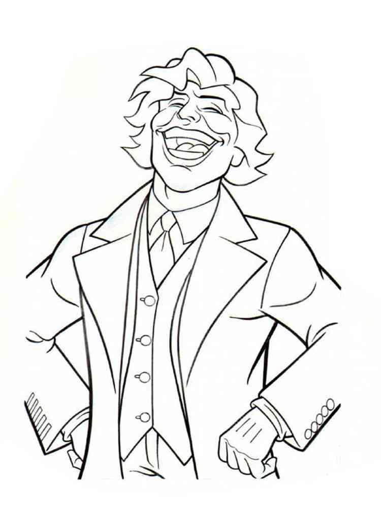 ausmalbilder joker - malvorlagen kostenlos zum ausdrucken