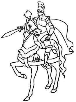 knights-coloring-pages-7