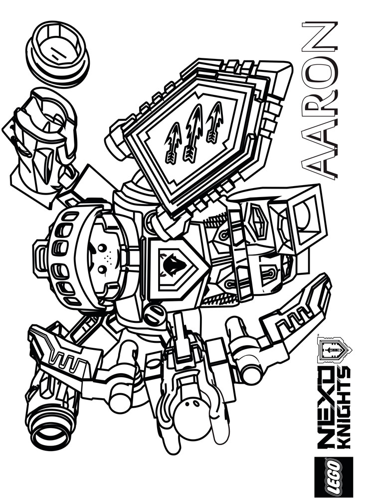 - Free Printable Lego Nexo Knight Coloring Pages For Boys