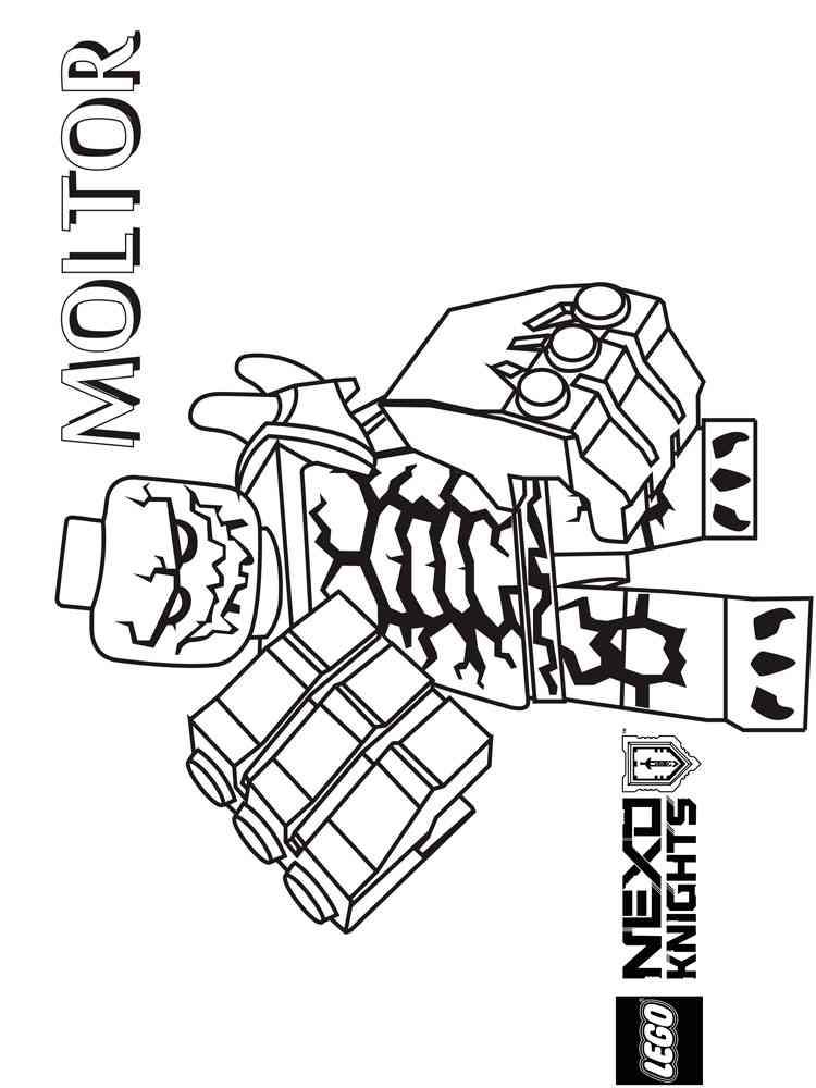 ausmalbilder lego nexo knights  malvorlagen kostenlos zum