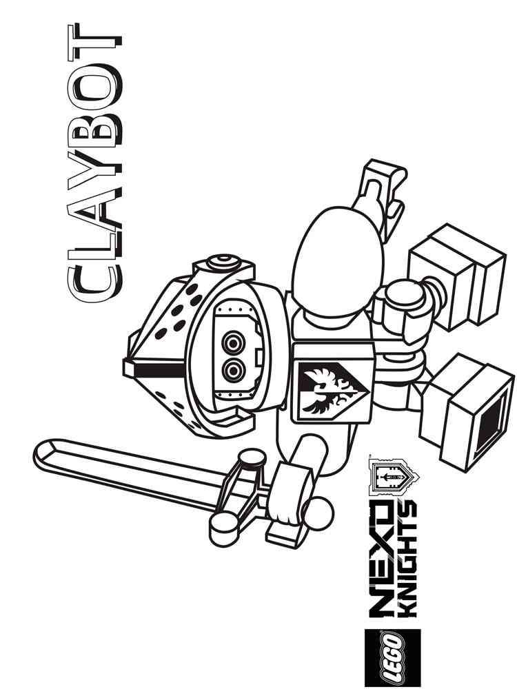 ausmalbilder lego nexo knights - malvorlagen kostenlos zum