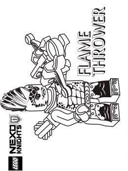 ausmalbilder lego nexo knights - malvorlagen kostenlos zum ausdrucken
