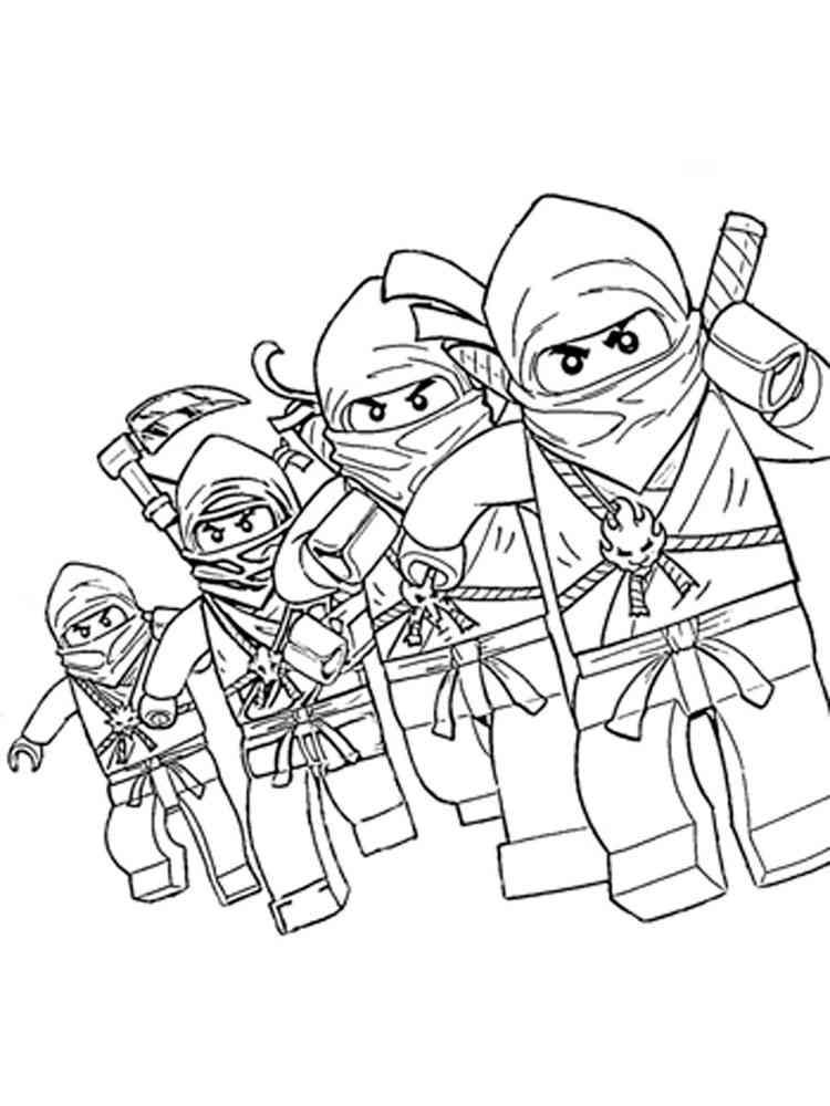 ausmalbilder lego ninjago - malvorlagen kostenlos zum