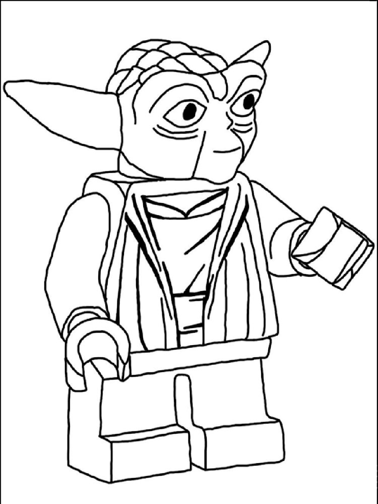 Free printable Lego Star Wars coloring pages For Boys