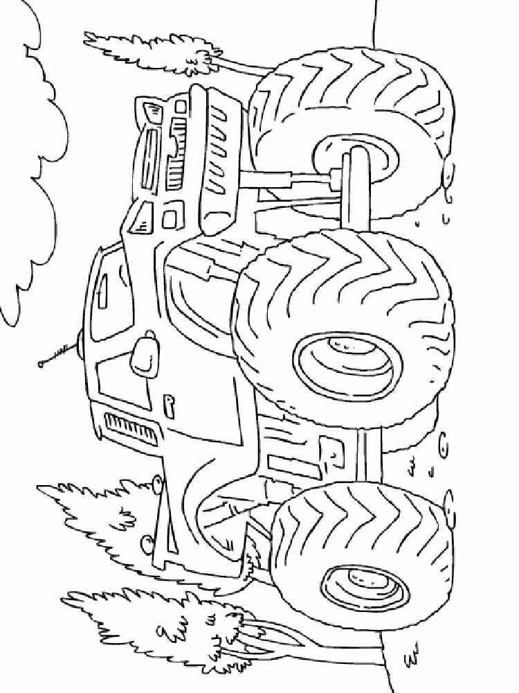 ausmalbilder monster truck - malvorlagen kostenlos zum