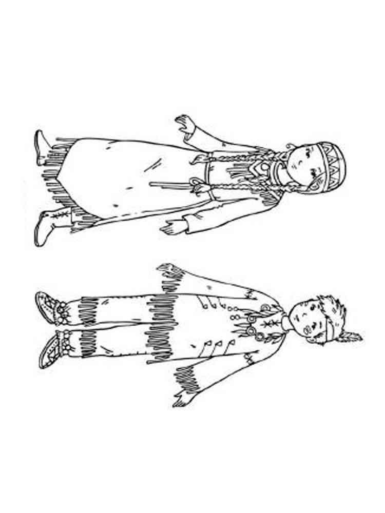 ausmalbilder indianer  malvorlagen kostenlos zum ausdrucken