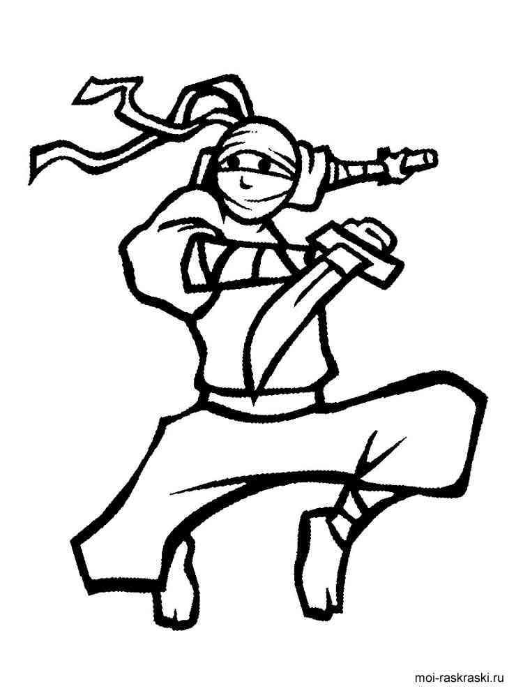 ausmalbilder ninja  malvorlagen kostenlos zum ausdrucken