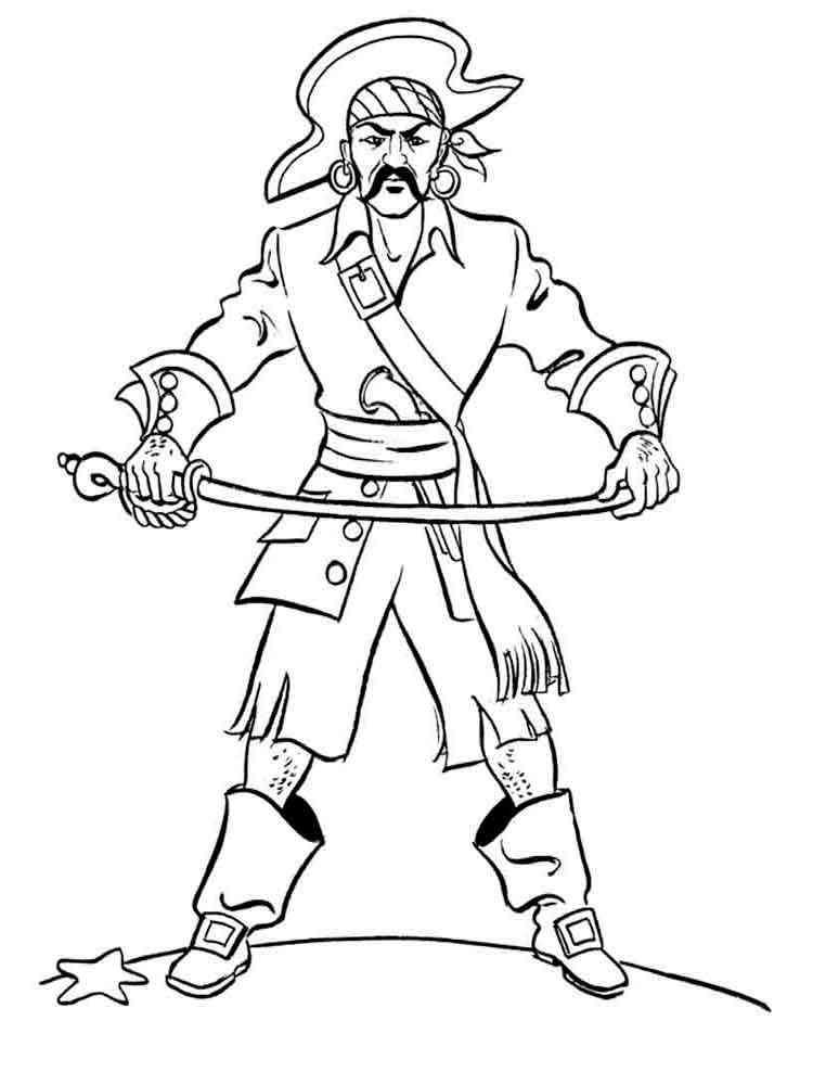 ausmalbilder piratin - malvorlagen kostenlos zum ausdrucken