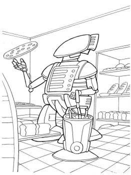 ausmalbilder roboter - malvorlagen kostenlos zum ausdrucken