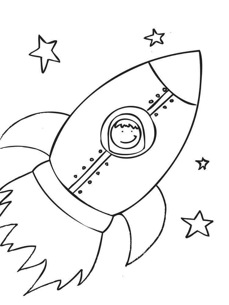malvorlagen rakete - ausmalbilder kostenlos zum ausdrucken
