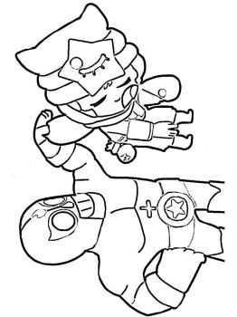 sandy-brawl-stars-coloring-pages-7