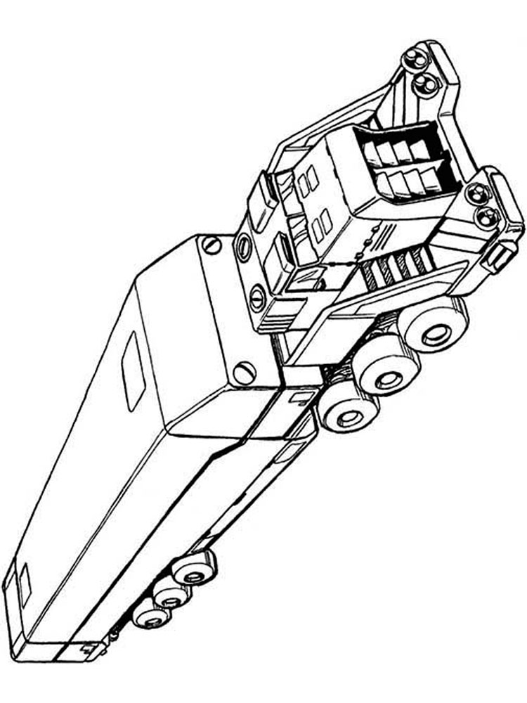 Semi Truck Diagram