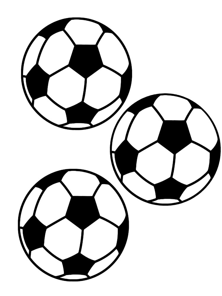 ausmalbilder fußball ball  malvorlagen kostenlos zum