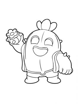 spike-brawl-stars-coloring-pages-9