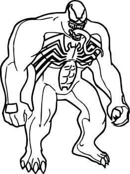 venom-coloring-pages-4