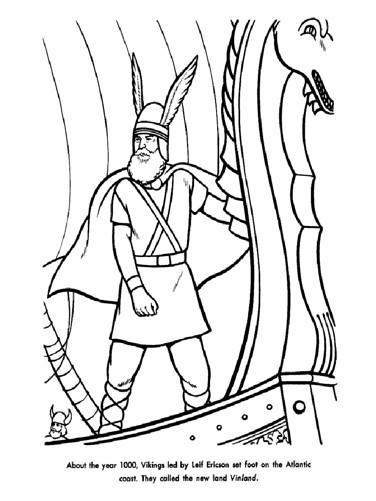 Free Printable Viking Coloring Pages For Kids