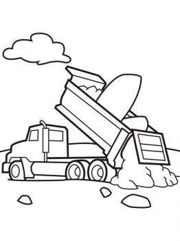 Dump-Truck-coloring-pages-2