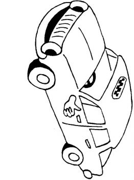 Taxi-coloring-pages-10