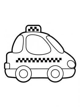Taxi-coloring-pages-2