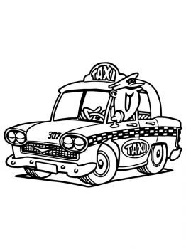 Taxi-coloring-pages-3