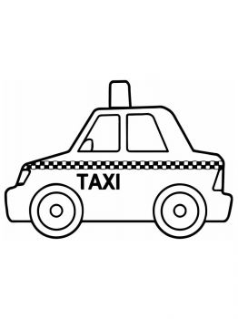 Taxi-coloring-pages-4