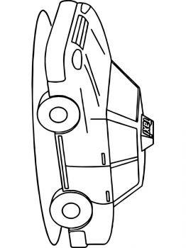 Taxi-coloring-pages-7