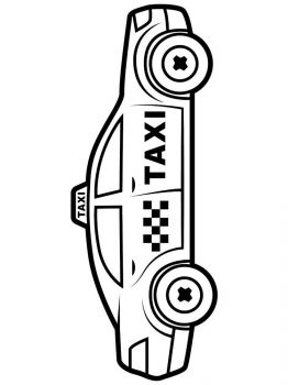 Taxi-coloring-pages-9