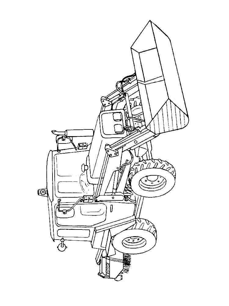 ausmalbilder traktor - malvorlagen kostenlos zum ausdrucken