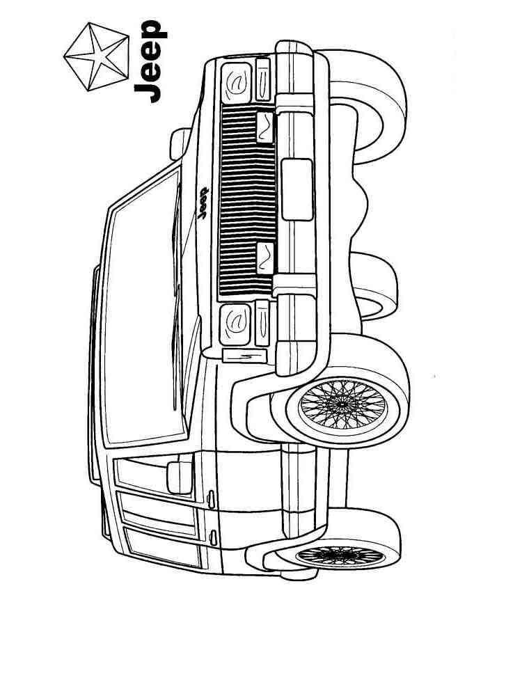 ausmalbilder suv auto  malvorlagen kostenlos zum ausdrucken