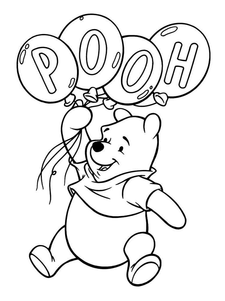 - Free Printable Winnie The Pooh Coloring Pages For Kids